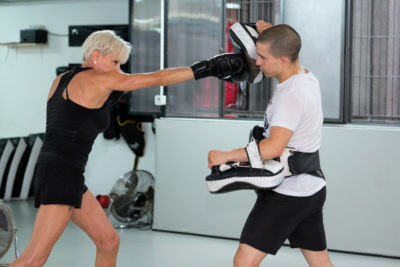 Kick boxing For fitness
